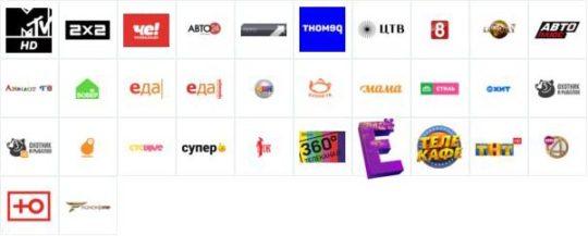 Развлекательные каналы Триколор ТВ