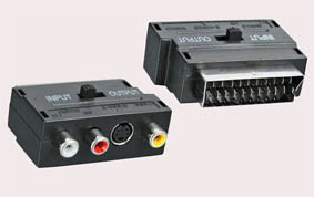 RCA-SCART переходник